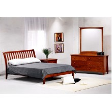 Nutmeg Platform Bed Group